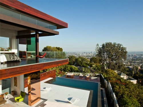 Contemporary in Hollywood Hills