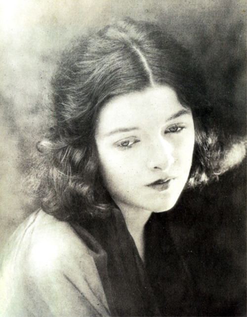 kylarose:  A striking portrait of Myrna Loy, aged fifteen, 1920 Scanned from: Myrna Loy: Being and Becoming