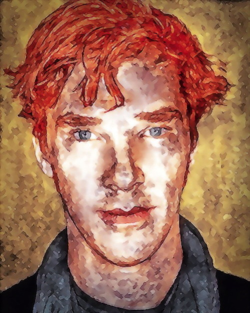 Benedict Cumberbatch by lyrical_sky