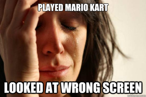 theamericankid:  First World Problem  The worst.