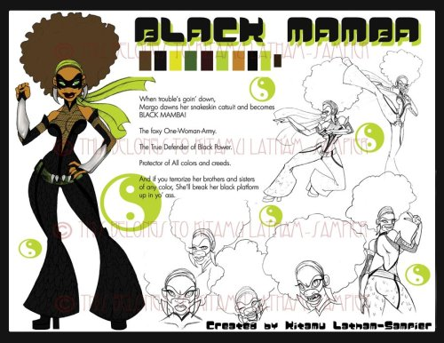 One of my favorite black anime artists - mama Anime