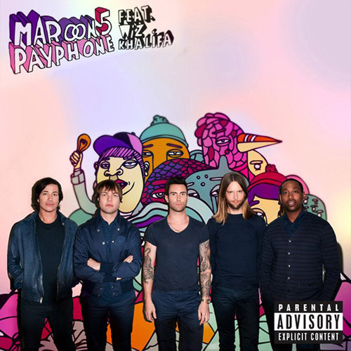 "Maroon 5's 'Payphone' Charges Onto Hot 100…  How ironic that a song about something as old-fashioned as a payphone sets a digital download record.  With digital sales of 493,000, according to Nielsen SoundScan, Maroon 5's ""Payphone,"" featuring rapper Wiz Khalifa, roars onto the Billboard Hot 100 songs chart at No. 3. Gotye's ""Somebody That I Used to Know,"" featuring Kimbra, meanwhile, spends a second week at No. 1. (Read More at Billboard…)"