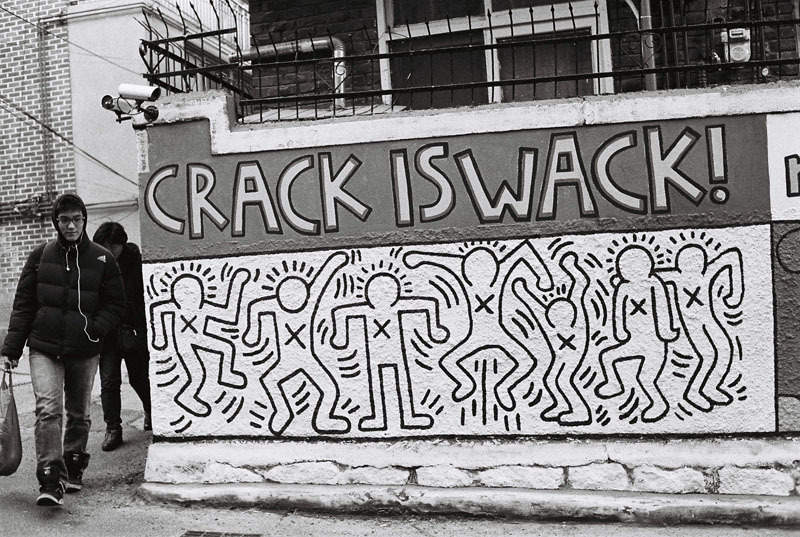 Crack is wack. Get high on life.