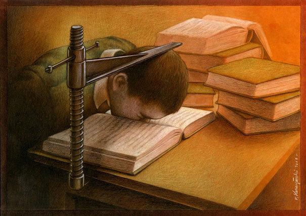http://www.demilked.com/satirical-illustrations-pawel-kuczynski/?utm_source=feedburner&utm_medium=email&utm_campaign=Feed%3A+Demilked+%28DeMilked%29