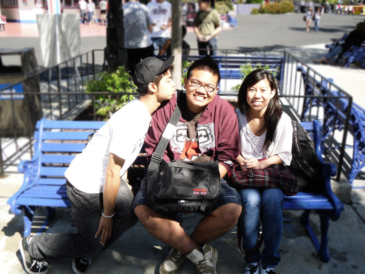 I miss these two! @ Great America 1 year ago