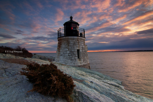 Castlehill Lighthouse Rhode Island