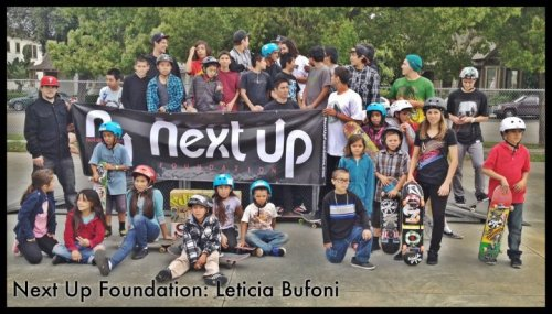 Next Up Foundation: Leticia Bufoni.