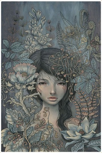 Where I Rest by Audrey Kawasaki