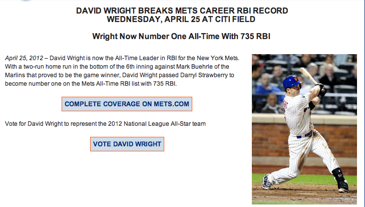 Now that's the type of Mets news I like to hear.