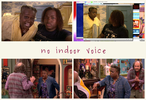 TV TROPE: No Indoor Voice  Andre's Grandmother