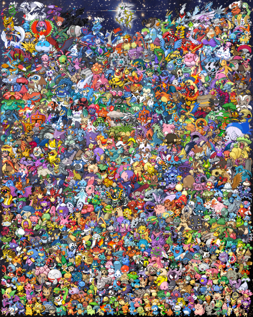 srlac:  wiredabyss:  EVERY POKEMON EVER!  reblogging again because I love it so much