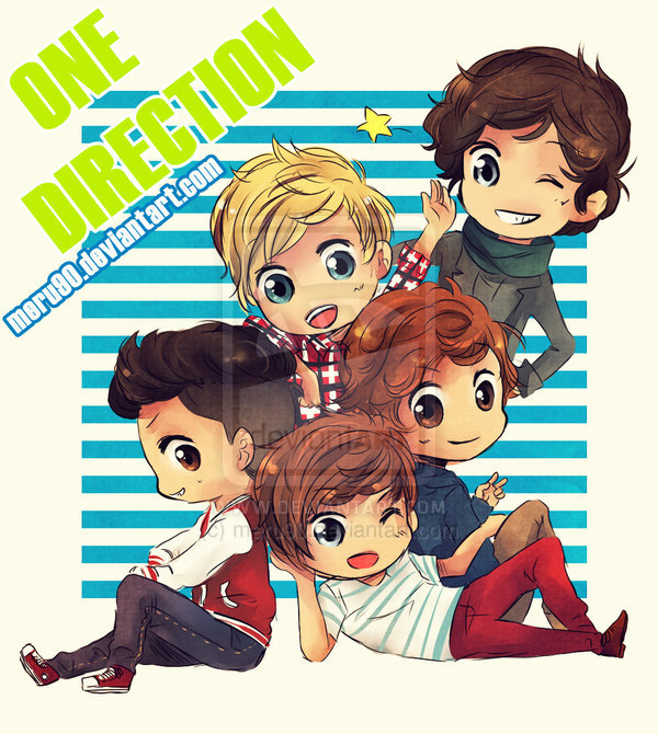 ONE DIRECTION by *meru90