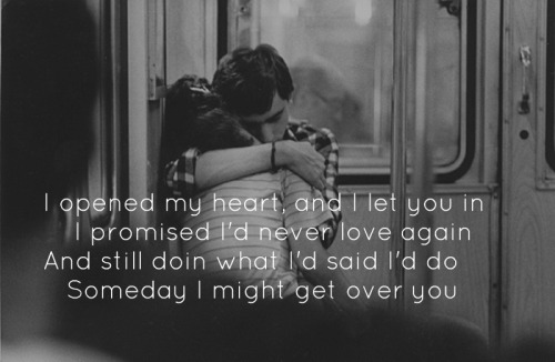I Might Get Over You- Kenny Chesney