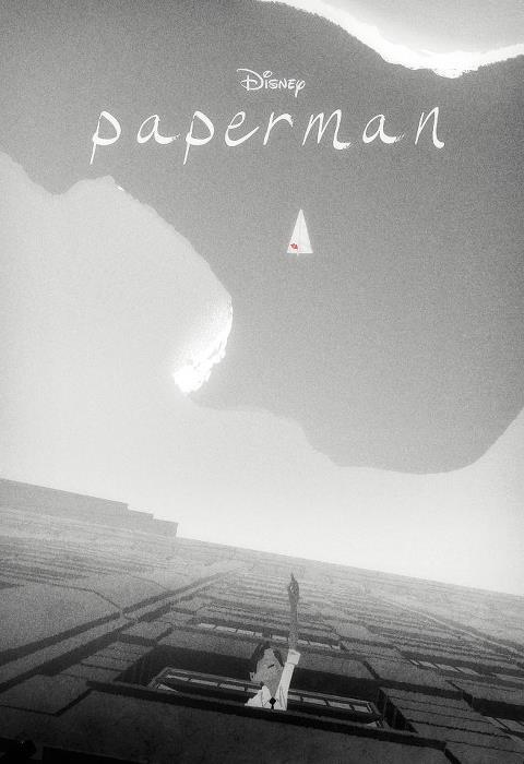 Paperman, a Disney short that will be shown before Wreck-it-Ralph in November, blends 2D and 3D and is the directing debut of animator John Kahrs (Toy Story 2, Tangled, Incredible).  Using a minimalist black-and-white style, the short follows the story of a lonely young man in mid-century New York City, whose destiny takes an unexpected turn after a chance meeting… with a beautiful woman on his morning commute. Convinced the girl of his dreams is gone forever, he gets a second chance when he spots her in a skyscraper window across the avenue from his office. With only his heart, imagination and a stack of papers to get her attention, his efforts are no match for what the fates have in store for him.