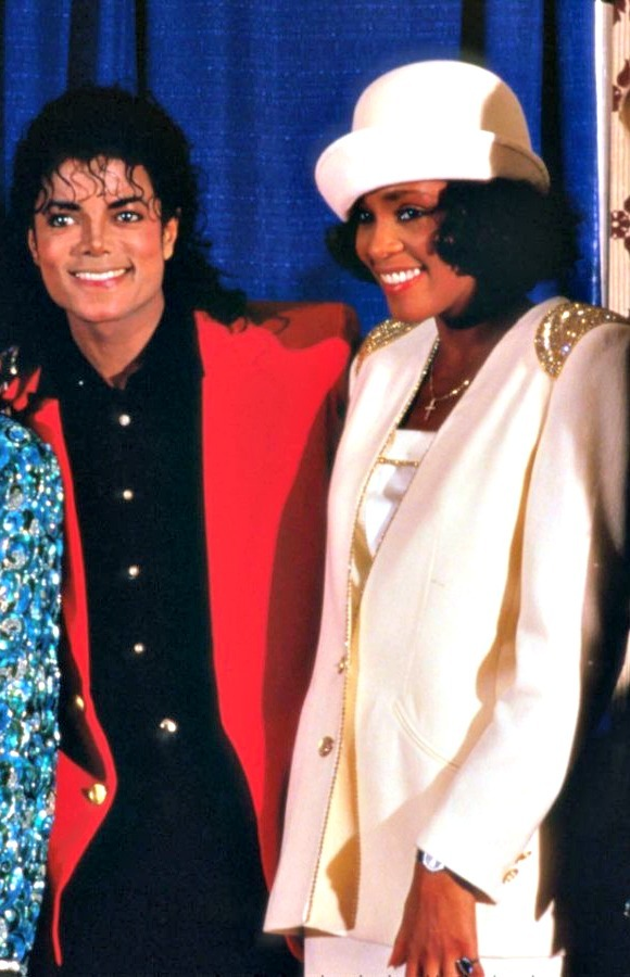everythingwhitneyhouston:  Like my friend Michael [Jackson] says, 'You want our blood but you don't want our pain. -Whitney