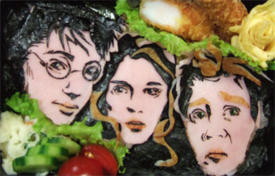 By far the most badass Harry Potter bento I've ever seen!