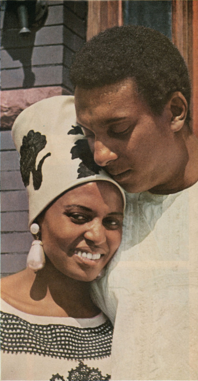 Stokely Carmichael and Makeba
