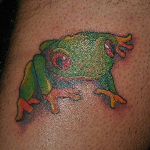 #tattoo #frog #ink #inks #tatt #art #street #bodyart (Taken with instagram)