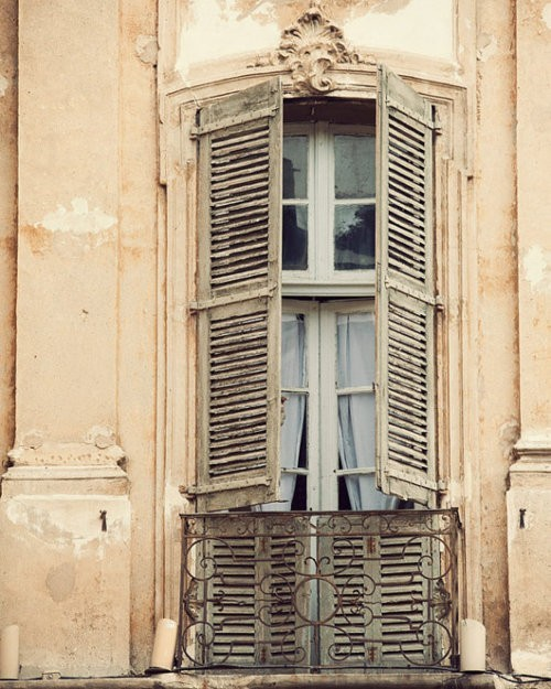 french old shutters