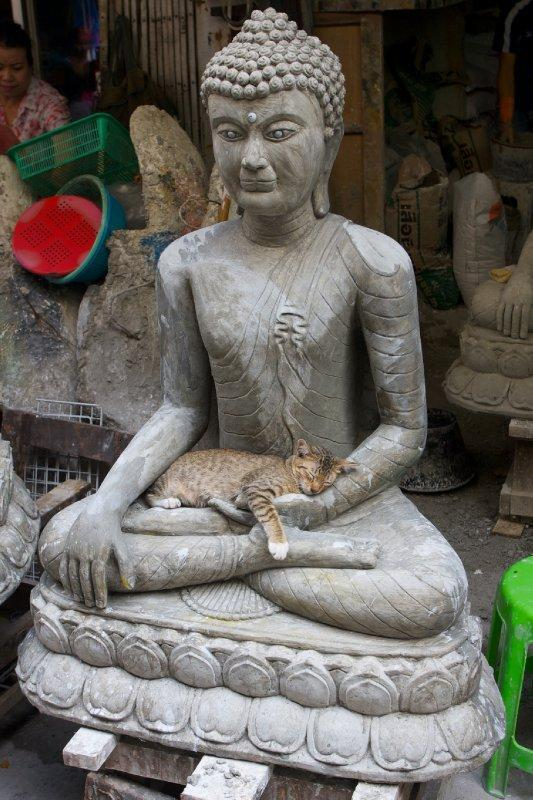 cybergata:  In the lap of Buddha, sleep is the sweetest.