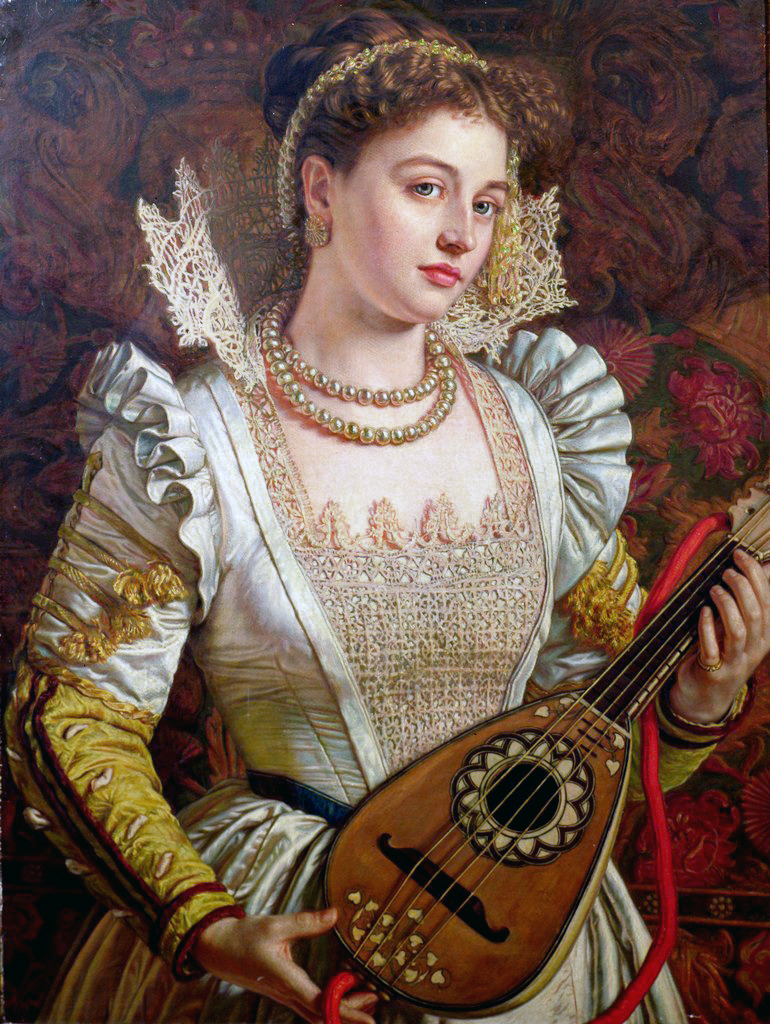 I think I saw her open for Joanna Newsom once fuckyeahpreraphaelites:  BiancaWilliam Holman Hunt 1859
