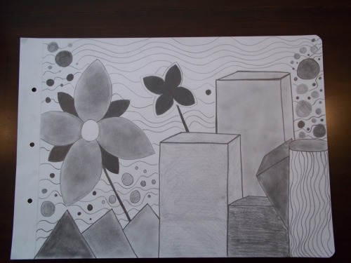 My Drawings First Semester! :D