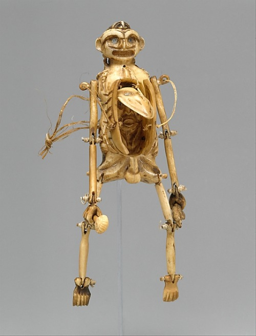 omgthatartifact:  Transformation Puppet Tlingit, 18th-19th century The Metropolitan Museum of Art