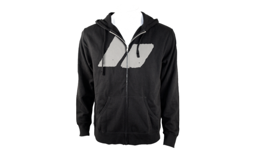 Maybe this Macbeth Silhouette Fleece Hoodie will help fight the crisp mornings like today.