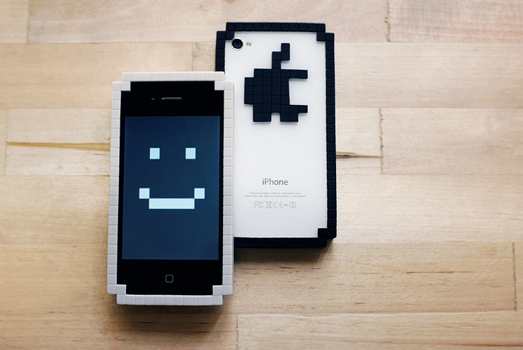 8-Bit iPhone and iPad Cases  I love the official iPad and iPhone cases, but these cases from Big Big Pixel are so cute that I may well be tempted away.