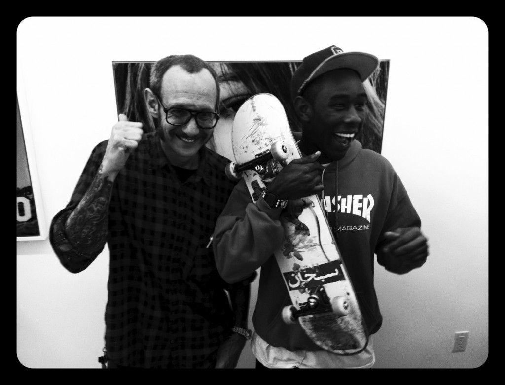 tasyavanree:  Terry Richardson & Tyler The Creator