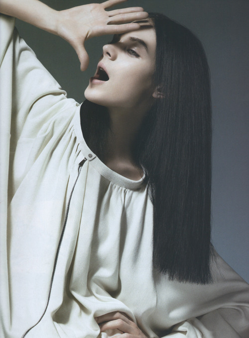 "highlikefashion:  Kinga Rajzak in ""Cruise"" photographed by Jem Mitchell for 10 magazine"