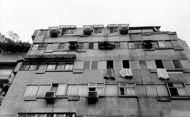 Drying the blankets on Flickr.Kokad Tmax 400@1600 Zorki4 Jupiter12