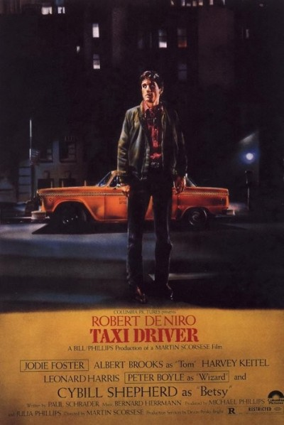 "#65. Taxi Driver ""Loneliness has followed me my whole life. Everywhere. In bars, in cars, sidewalks, stores, everywhere. There's no escape. I'm God's lonely man."" Travis Bickle"