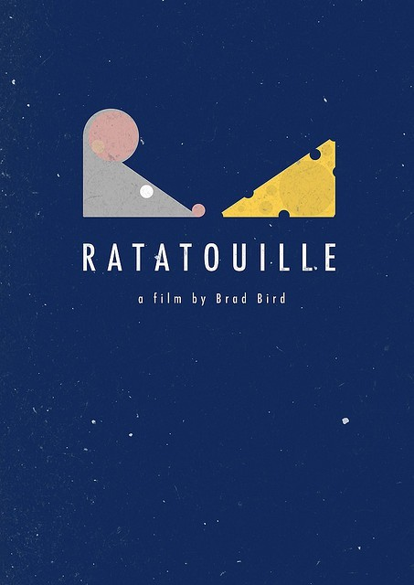 Ratatouille poster art
