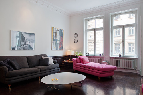 homeandinteriors:   Stockholm apartment for sale here
