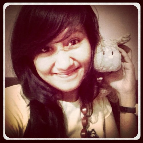 with my lovely doll {}:* #love #instagood #popular #doll #sweet (Taken with instagram)