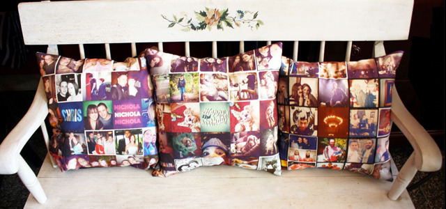 Hand-sewn pillows showcase users' Instagram photo   The advent of mobile technology has lead to a huge increase in the amount of time consumers spend connected to the internet and, as a result, there is an ever growing need to bridge the gap between their online and offline lives. This is why we've seen ways to represent consumers' Facebook interactions in physical, glossy pages, for example. It's also the reason behind Stitchtagram, a site that creates hand-sewn pillows featuring photos from Instagram. READ MORE…