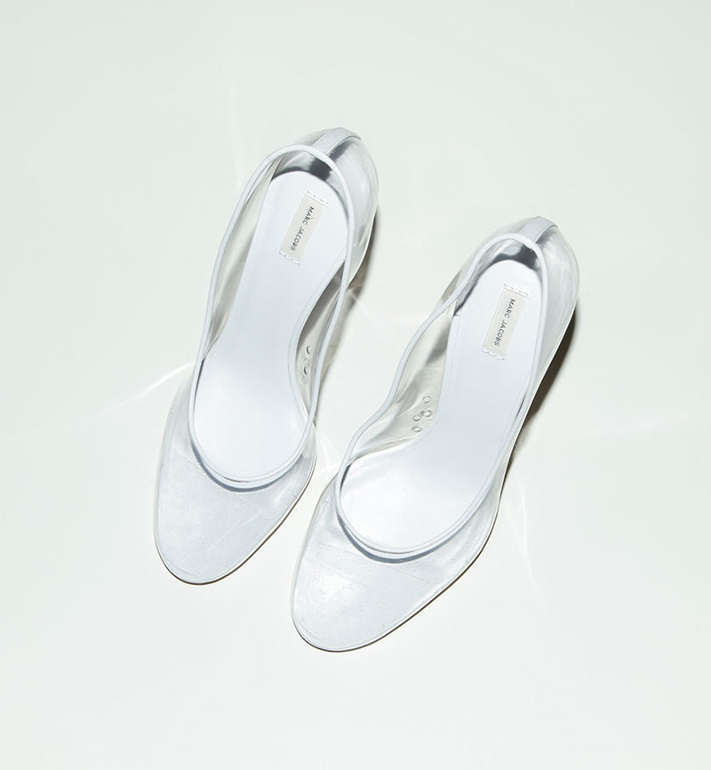 Transparent pumps by Marc Jacobs