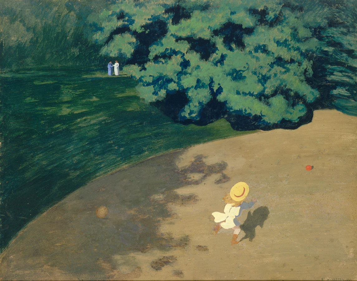 Felix Vallotton - Ball
