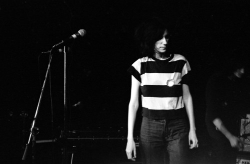 """Patti Smith, The Boarding House, San Francisco 1975"""