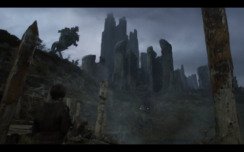 This is what we thought of Game of Thrones S2 Ep4 - Garden of Bones Picture of Harrenhal!