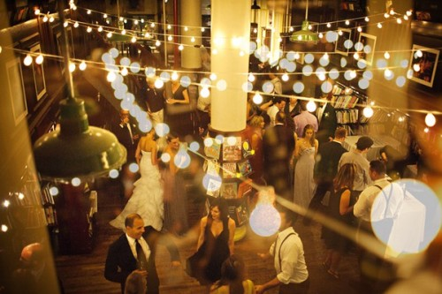 rachelfershleiser:  monsterjenn:  bookstore wedding  Just another Housing Works Bookstore Wedding, no big.