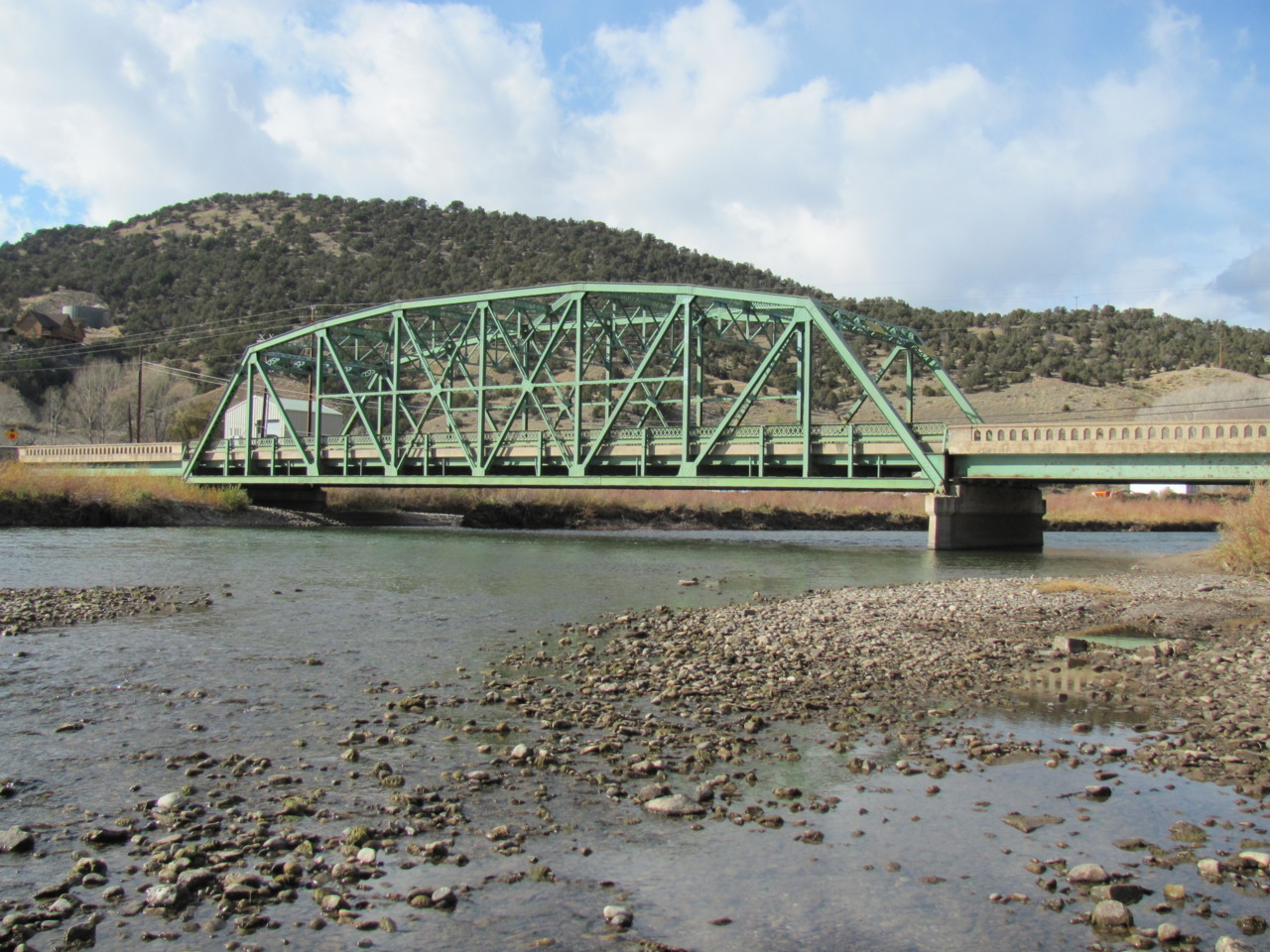 Free to good home: A bridge Wow, what a deal the Colorado Department of Transportation has for you: All that's needed is the time, money and equipment to disassemble, relocate and reassemble a 150-foot-long, 33-foot-wide, 77-year-old metal truss bridge that has vertical clearance of 13 feet, 2 inches. Click here for more on adopting the Dotsero Bridge, built in 1935.