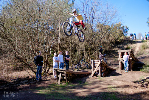A few more shots of Round 3 of the woodland Riders Winter Series freestyle competition. Kieran Atherton - This guy is only 11 or 12 years old and pulling a no footer, one hander!Gawton Gravity Hub, Tavistock, Devon