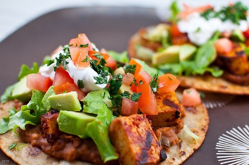 prettybalanced:  Chipotle Grilled Tofu Tacos