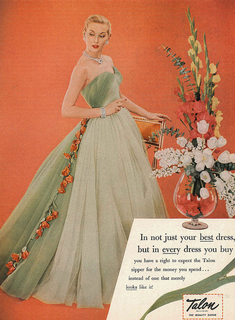 Oh hell yes solo-vintage:  Harper's Bazaar April 1952.
