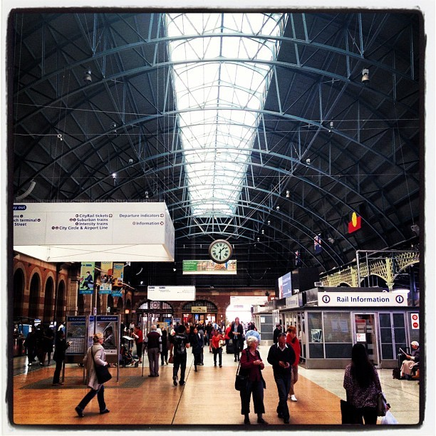 Central Station #sydney  (Taken with instagram)