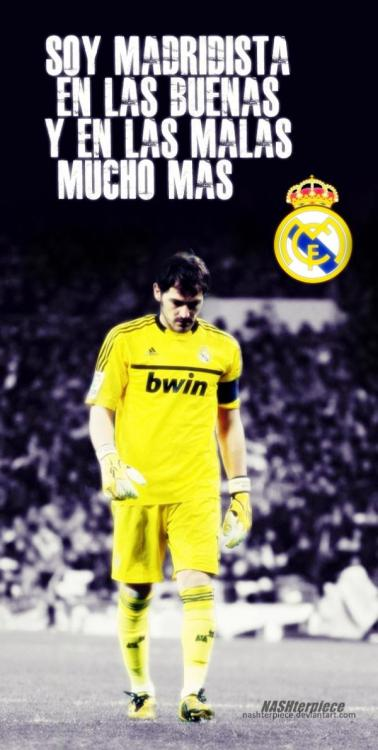 realmadridisinmyblood:  I'm a Madrid fan during the good times and even more so in the bad.