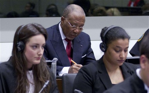 "Liberian ex-president Charles Taylor convicted in war crimes trial Taylor was found guilty of aiding Sierra Leone rebels: Charles Taylor, a longtime Liberian leader who resigned in 2003 under heavy international pressure, was convicted by an international court Thursday of helping aid rebel fighters in Sierra Leone, providing them with weaponry and moral support in exchange for ""blood diamonds."" While Taylor himself was not responsible for committing war crimes himself, his actions led to war crimes happening. ""The accused knew of atrocities being perpetrated against civlisans in Sierre Leone and of propensity to commit crimes,"" said Judge Richard Lussick. ""Notwithstanding such knowledge, the accused continued to provide support to the RUF during the period crimes were committed."" Taylor is the first African leader to be convicted in a war crimes trial. (Photo by Peter DeJong/AFP/Getty Images)"