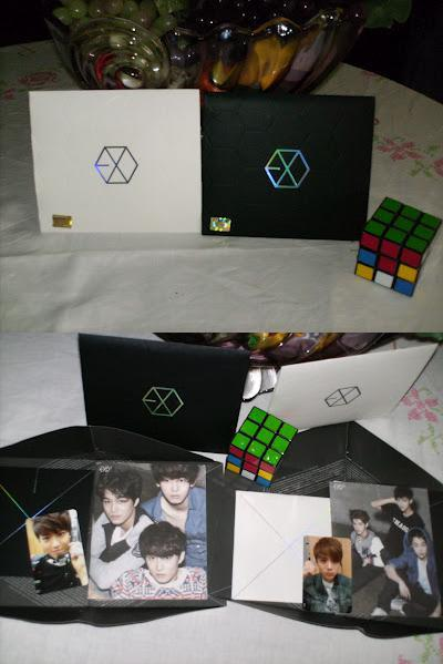 I finally got my EXO stuff! *deep breath*  I'M SO FREAKIN' HAPPY RIGHT NOW! *afsghajdfhbfkdgbakjfgb* I waited so long and now they're here with me. I'm happy. I got the posters too, but I'm too lazy to take pictures of them. My camera is just so…old. It doesn't want to live any longer *sad face*  Suho and Luhan cards! <3 Precious! Though I'd hoped for Sehun, I'm really glad for Suho!